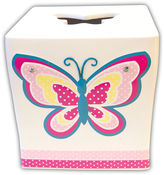HOMEWEAR Butterfly Dots Tissue Box Cover