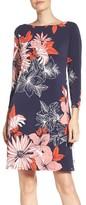 Vince Camuto Petite Women's Crepe Shift A-Line Dress