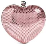 Whiting & Davis 'Charity Heart' Minaudiere