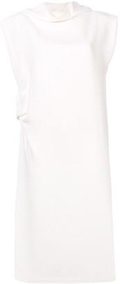 Jil Sander Draped Midi Dress