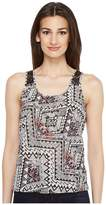 Roper 0858 Aztec Print Sleeveless Shirt