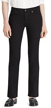 Ralph Lauren Ralph Modern Curvy Straight-Leg Jeans in Black