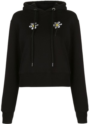 Palm Angels Daisy-Print Hoodie