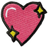 Stoney Clover Lane Sparkle Heart Sticker Patch