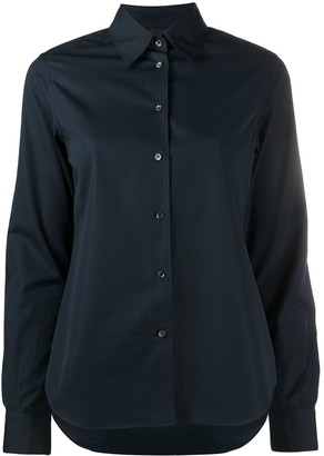 Aspesi Pointed Collar Cotton Shirt