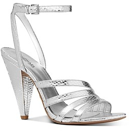 MICHAEL Michael Kors Women's Kimmy High-Heel Strappy Sandals