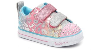 Skechers Twinkle Toes Shuffle Lite Light-Up Sneaker - Kids'