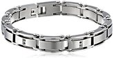 Black Diamond Cold Steel Men's Stainless Steel Bracelet, 8.5""