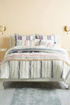 Anthropologie Woven Starling Quilt