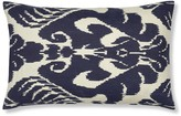 Williams-Sonoma Silk Ikat Medallion Pillow Cover