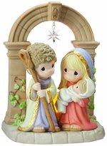 """Precious Moments Unto Us A Child Is Born"""" Figurine"""