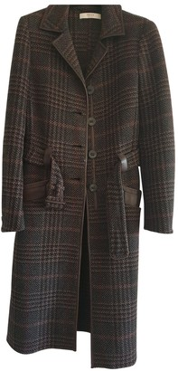 Prada Brown Wool Coat for Women
