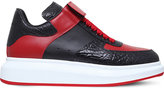 Alexander Mcqueen Dunk Strap Leather High-top Trainers