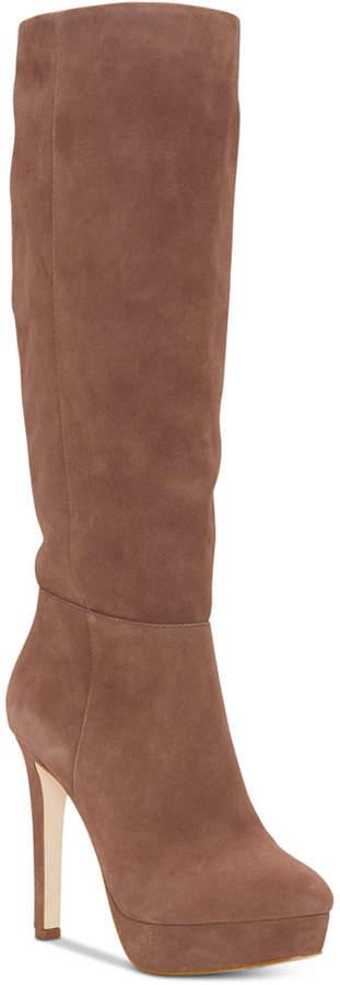 Jessica Simpson Rollin Platform Dress Boots Women Shoes
