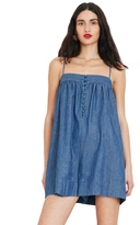 Apiece Apart Arousa Chambray Romper