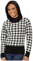 Pendleton Petite Houndstooth Pullover