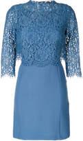 Twin-Set layered lace top dress