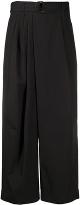 Christian Wijnants Pili cropped trousers