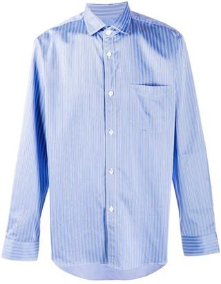 Junya Watanabe Striped Cotton Shirt