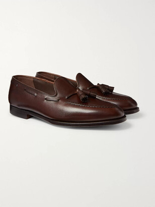 George Cleverley Adrian Leather Tasselled Loafers