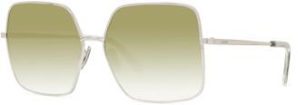Celine Square Gradient Metal Sunglasses