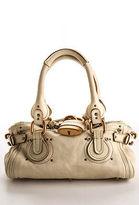 Chloé Ivory Leather Bronze Tone Paddington Mini Satchel Handbag BY4861CHL MHL