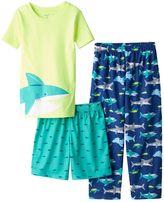 Carter's Boys 4-12 Shark 3-Piece Pajama Set