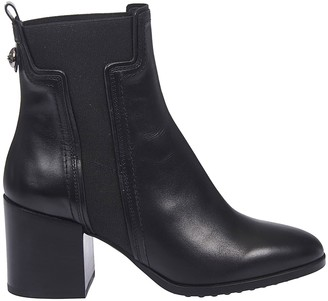 Tod's Tods Almond Toe Ankle Boots