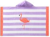 Pottery Barn Kids Flamingo Stripe Kids Beach Wrap