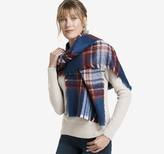 Johnston & Murphy Brushed Bold Plaid Scarf