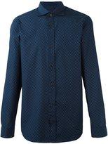 Z Zegna polka dots shirt