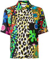 Moschino multi print shirt