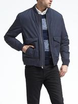 Banana Republic Navy Bomber Jacket
