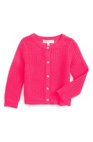 Milly Minis Girl's Mesh Cardigan