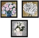 Oliver Gal Metallic Bloom' Framed Graphic Art Print Set