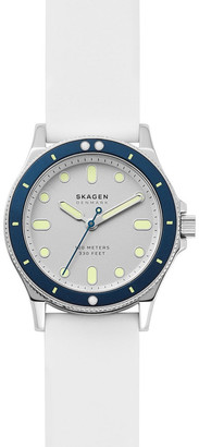 Skagen Fisk White Analogue
