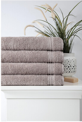 OZAN PREMIUM HOME Cascade Bath Towels Set Of 4