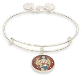 Alex and Ani Wonder Woman Logo Charm Bracelet