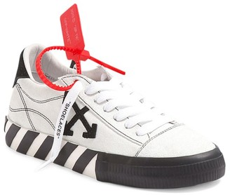 Off-White Arrow Low-Top Canvas Sneakers