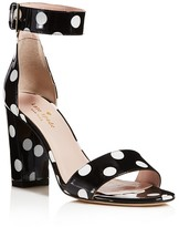 Kate Spade Idabelle Too Ankle Strap High Block Heel Sandals