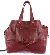 Jerome Dreyfuss Pebbled Leather Satchel