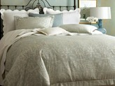 The Well Appointed House Peacock Alley Marcella Duvet Cover & Shams Collection in Mist