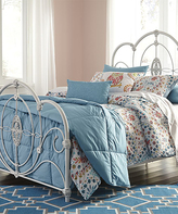 Signature Design by Ashley Aged White Loriday Metal Bed