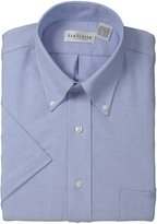 Van Heusen Men's Short Sleeve Oxford Dress Shirt Numeric Sized