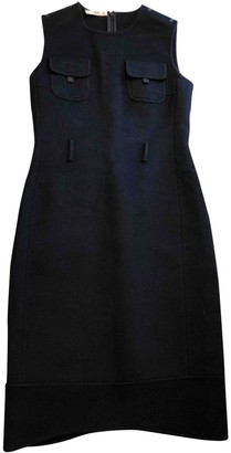 Prada Black Wool Dresses