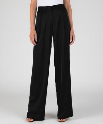 Atm Wide Leg Easy Pants - Black