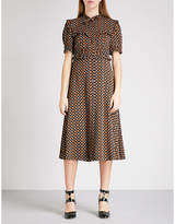 L'ORLA Agnes crepe dress