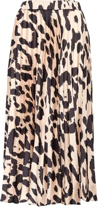 Sanctuary Everyday Print Pleated Skirt