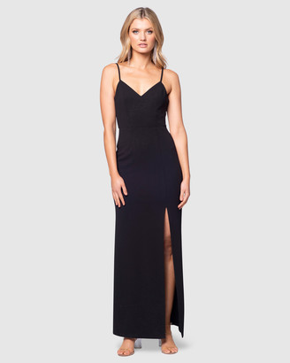 Pilgrim Women's Black Maxi dresses - Elsie Gown - Size One Size, 6 at The Iconic