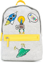 Fendi printed backpack - kids - Cotton - One Size